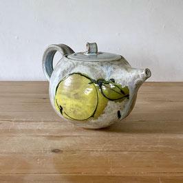 teapot lemon and leaf on chun