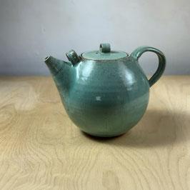 extra large teapot - teal