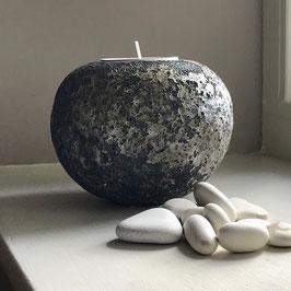 tea light sphere - moonscape