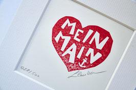 """""""MEIN MAIN"""" -  MANUELLER MINI PRINT"""