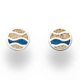 Ohrring Ebbe&Flut Blau