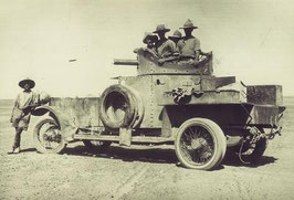 Automitrailleuse Rolls Royce 1914 Moyen-Orient (R72113)
