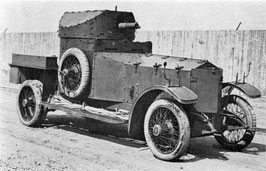 Automitrailleuse Rolls Royce 1914 Europe (R72114)