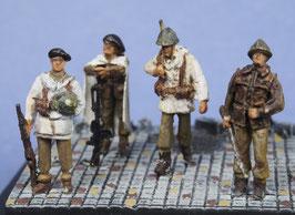 Soldats français de l'expédition Narvik (x4) (R72419)