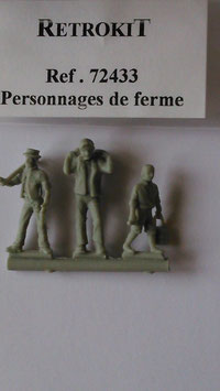 Personnages de ferme (R72433)
