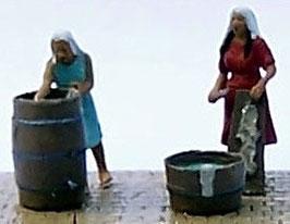 Blanchisseuses avec leurs accessoires (R72003)