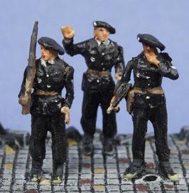 Miliciens français (x3) (R72404)