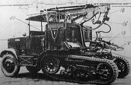 Tracteur Somua MCL du 155 GPF (R72218)