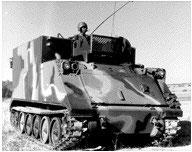 Véhicule de commandement US M577A2 (R72303)