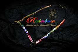 Magnificent Showhalter with 56 Swarovski Elements 14mm, 20 different colors !!!!