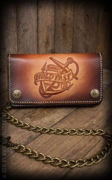 """Leder Wallet """"Anker"""" - sunburst handmade"""