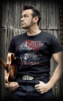 T-Shirt Hotrod Betty's Speed Shop