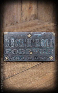 Buckle Rock'n'Roll Forever - Vintage Patina