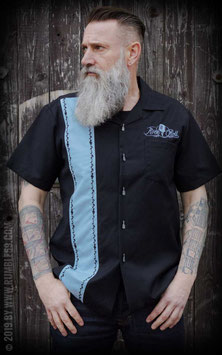 Lounge Shirt - Sound of Rock'n'Roll - hellblau