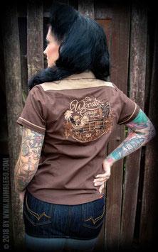 Bluse The Woodie Garage - braun