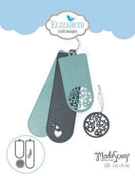 Love life Tag Elizabeth Craft Designs