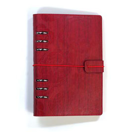 Planner Cover Red Flowers  >PRE-ORDER