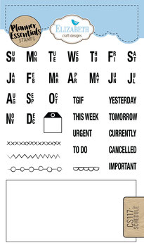 Schedule & Days of the week - Stamps