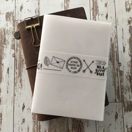 Passport Size Vellum Insert Travelers Notebook