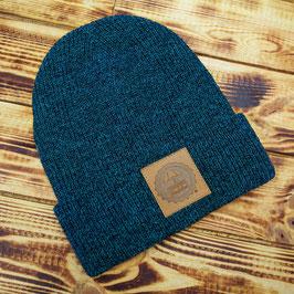 F+K Mütze blau melange