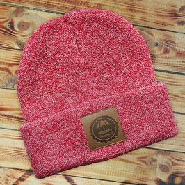 F+K Mütze rot melange