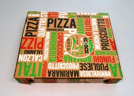 Scatola Pizza cm. 33x33x3 - 100 pezzi