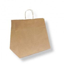 Shopper Kraft Avana cm. 32+21x28,5 - 250 pezzi