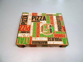 Scatola Pizza cm. 22x26x4 - 100 pezzi