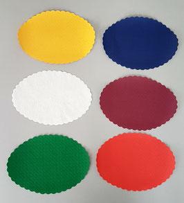Coprivassoi Ovali carta cm. 13x18 - 500 pezzi