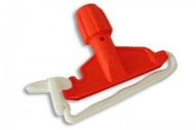 Pinza plastica per mop ROSSO