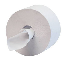 Carta Igienica Jumbo h. cm. 13.6 2 veli pura cellulosa - 6 rotoli