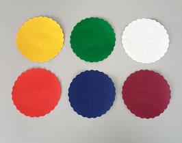 Sottocoppe carta diametro cm. 12 - 500 pezzi