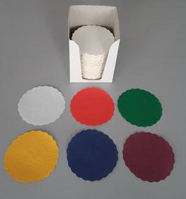 Sottobicchieri - Sottotazze diametro cm. 9 - Scatola Espositore 1.000 pezzi