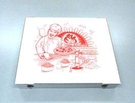Scatola Pizza cm. 22x26x4 - 50 pezzi