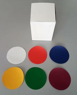Sottobicchieri - Sottotazze diametro cm. 8.5 - Scatola Espositore 1.000 pezzi