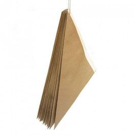Cono carta Avana - Bianco  gr. 100 - 1.000 pezzi