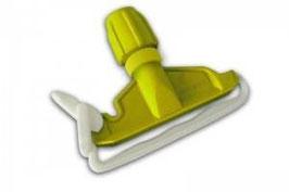 Pinza plastica per mop GIALLA
