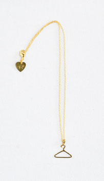 Necklace & clothing-hanger charm