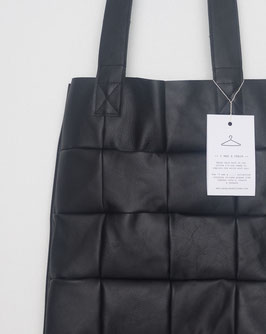 Tote bag - patchwork black
