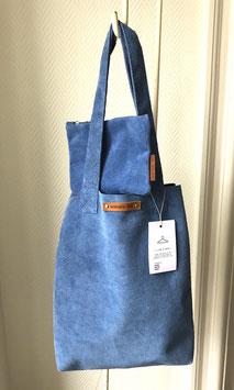Tote bag - lichtblauw