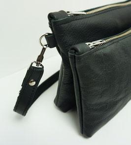 Dubbel crossbody bag  - Black