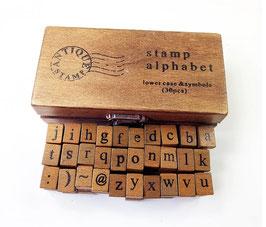 Tampons alphabet
