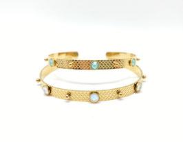Bracelet jonc Hanna