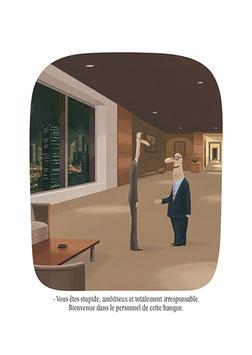 Bienvenue dans le personnel de cette banque