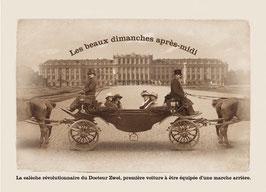 """Carte """"La calèche révolutionnaire"""""""