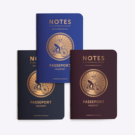Trois petits carnets PASSEPORT CYCLE