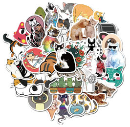 """50 stickers """"Chats"""""""