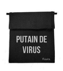 """Range masque """"Putain de virus"""""""
