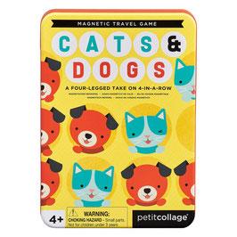 CATS AND DOGS Jeu de voyage magnétique