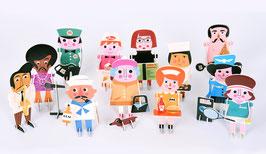 La parade des personnages 3D